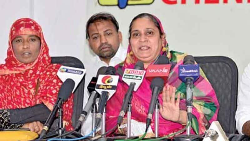 bjp Fathima Ali slams Joythi mani