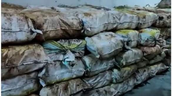 police seizes Rs.225 crore worth ganja in Malkangiri in Odisha