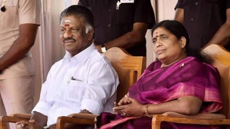 Good friend to Sasikala ..! Unpublished information about the OPS wife