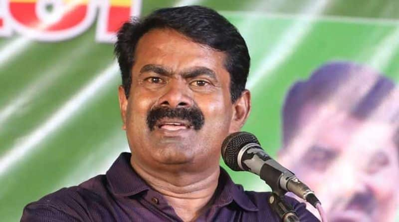 Farmers are afraid that the harvested paddy will be wasted by drowning in water. seeman demanding.