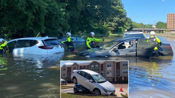 """44 Dead As Flash Floods Hit New York Area In """"Historic"""" Weather Event"""