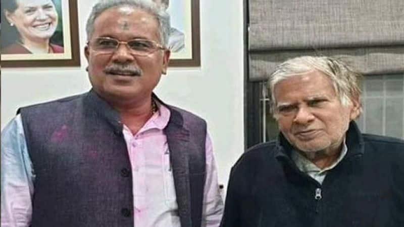 Chhattisgarh cm father sent to jail over brahmin remarks bsm