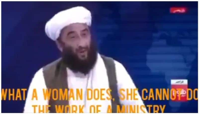 Afghan women should give birth they can not be minister says Taliban leader bsm