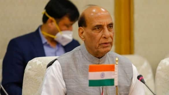 Innovative idea Defence Minister Rajnath Singh says water from 115 nations to be offered at Ayodhya Temple-SYT