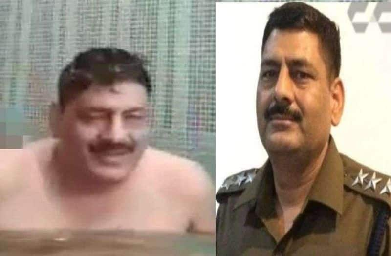 DSP naked with female guard in swimming pool .. Husband screaming with DGP. Shocking video.