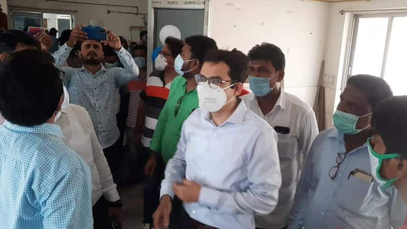 the District Magistrate inaugurated oxygen plant in Malda bmm