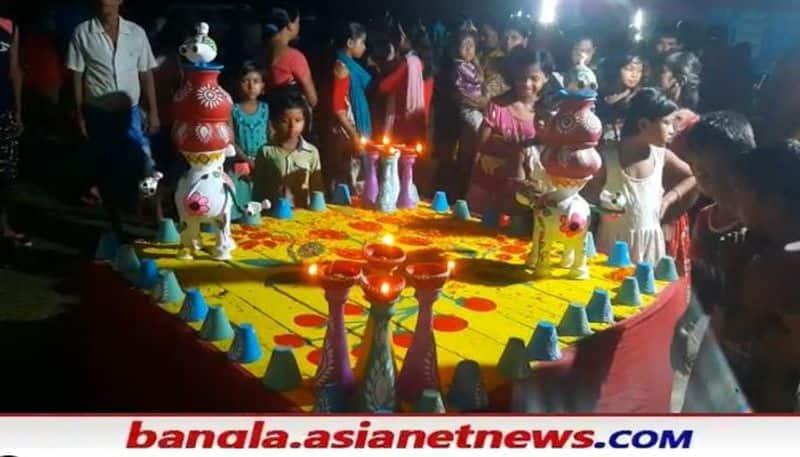 BJP district secretary attacks CM due to making Durga idols like Mamata Banerjee RTB
