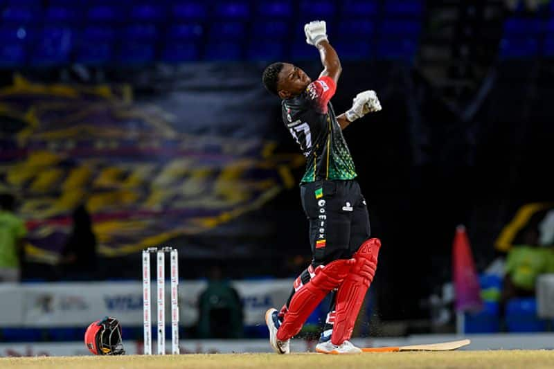 saint kitts&nevis patriots beat guyana amazon warriers in cpl 2021 semi final and qualify for final