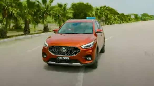 MG Astor sales and bookings open from October 2021