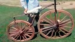 Punjab unique wooden cycle in ludhiana could be sold off for Rs 50 Lakh but owner is not willing to sale it