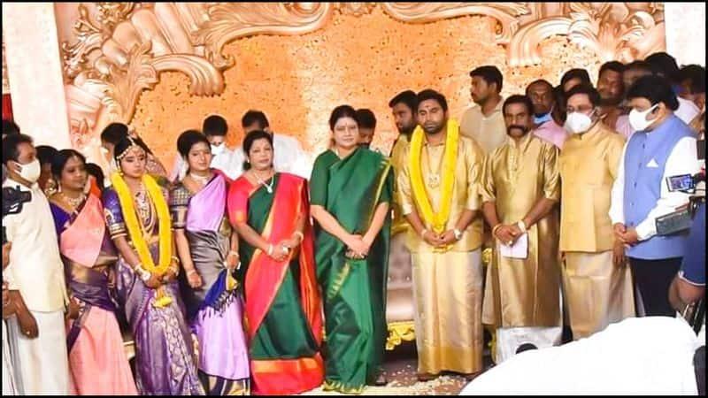 Shivaji family united in DTV Dinakaran's daughter's family ... Awake Thiruvannamalai
