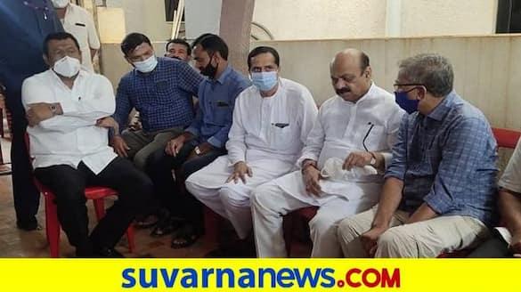 CM Basavaraj Bommai Emotional Due to Beloved Friend Passed Away in Hubballi grg