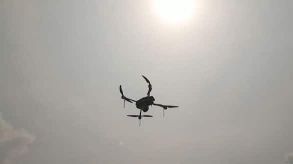 Barrackpore Police Commissionerate searched miscreants through drones near Arjun Singh house bmm
