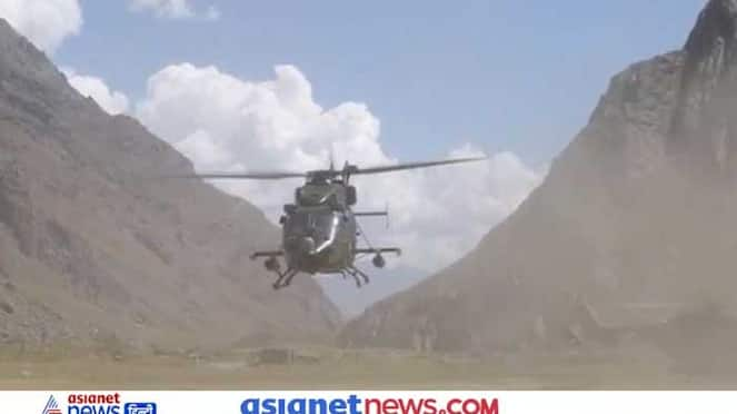 Indian Army Northern Command's WSI helicopters keep an eagle's eye in the sky