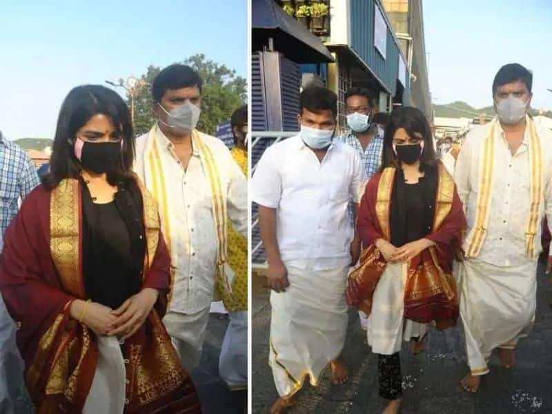 Samantha pours anger at the temple to the reporter Controversial video goes viral