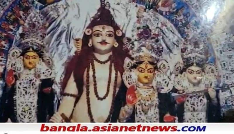 Goddess Durga is worshiped in a different form in the 250 year old Dey family of Burdwan RTB