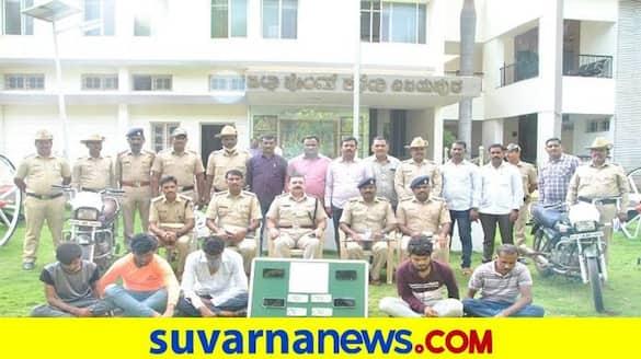 Five Supari Killers Arrested on Murder Case in Vijayapura grg