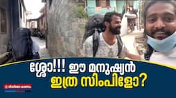 pranav mohanlal found on the way to manali fans taking over the video