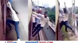 पटरी पर दौड़ती ट्रेन के साथ युवकों की स्टंट बाजी, खतरनाक Video देख सहम जाएंगे आप