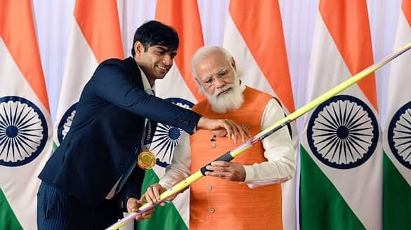 Olympic souvenirs received by PM Modi attracts Crores of Rs in ongoing e-auction ALB