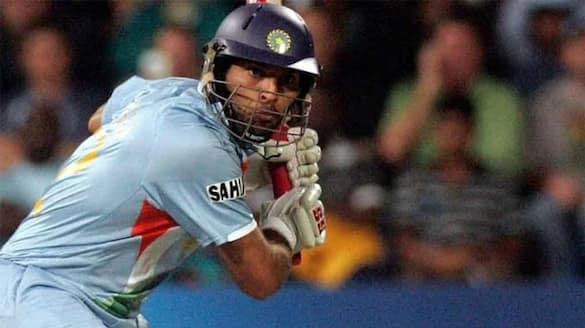 Yuvraj Singh hilariously re-creates his histories six sixers feat against England in 2007 t20 Worldcup