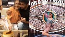 Bigg Boss OTT winner Divya Agarwal celebrates her win with boyfriend Varun Sood RCB