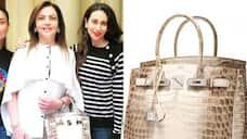 Mumbai Indians: Check out Nita Ambani's Rs 2.6 crore Hermès Himalaya crocodile diamond Birkin bag