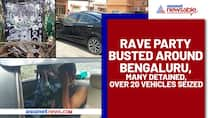 Rave party busted around Bengaluru, many detained, over 20 vehicles seized - ycb