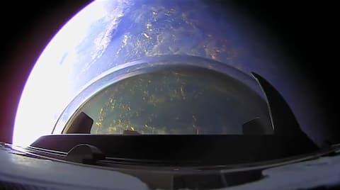 Orbital sunset captured from Dragon's Cupola goes viral; netizens mesmerised