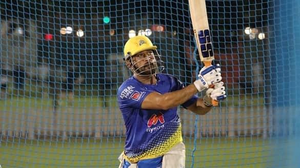 IPL 2021 Dhoni trending on social media ahead of CSK vs Mumbai Indians clash dubai ckm