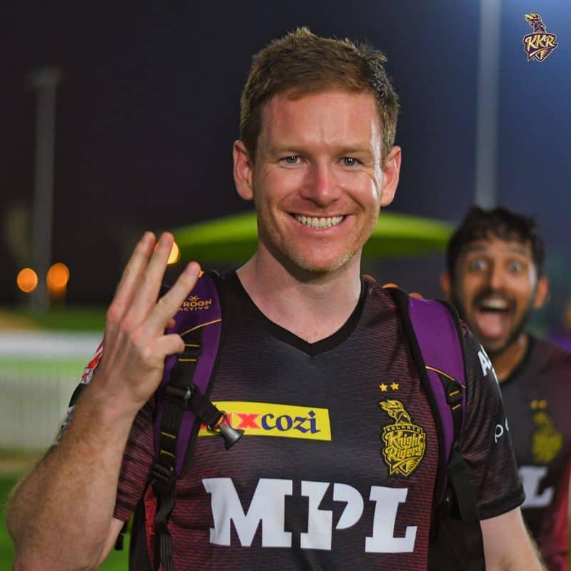 Captain eoin morgan proud of kkr bowlers superb performance against world class batsmen in kkr vs rcb match in ipl 2021