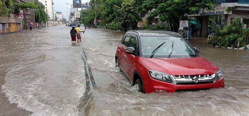 Heavy rain with thunderstorms throughout the night see weather update in South Bengal bmm