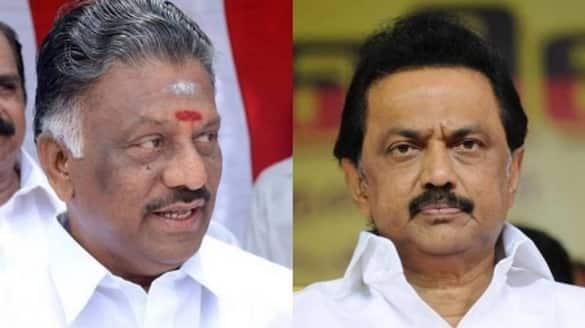 Why are you silent .. What about the release of 7 people. ??? O. Panneerselvam presses DMK ..