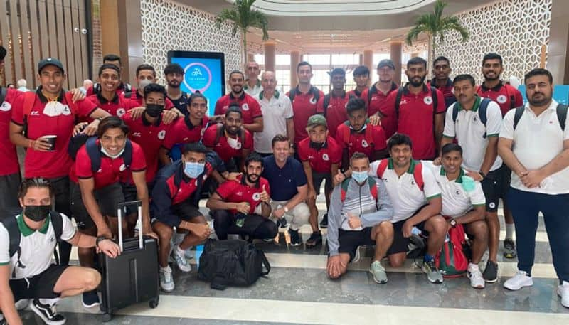 ATK Mohun Bagan player Pritam Kotal confident before taking FC Nasaf in AFC cup Inter Zonal Semi Final spb