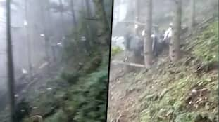 J&K: Indian Army helicopter crashes near Patnitop in Udhampur, rescue operations underway