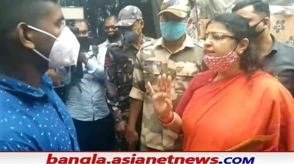 BJP candidate Priyanka Tibrewal has accused the police of obstructing the Bhabanipur  By Election campaign RTB