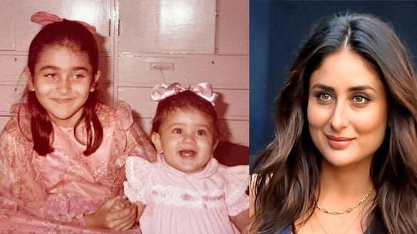 Karishma Kapoor Shares Little Sister Kareena Kapoor Childhood Pics on Her Birthday