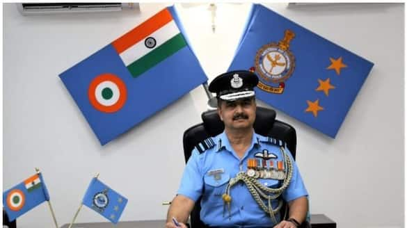 vr chaudhary is the new chief of air force