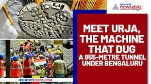 Meet Urja, the machine that dug a 855-metre tunnel under Bengaluru