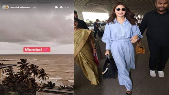 IPL 2021, viral post of Anushka Sharma, users claims that actress has returned Mumbai