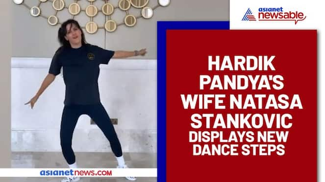 IPL 2021: Hardik Pandya's wife Natasa Stankovic keeps her fans guessing with her new dancing steps (Watch)-ayh