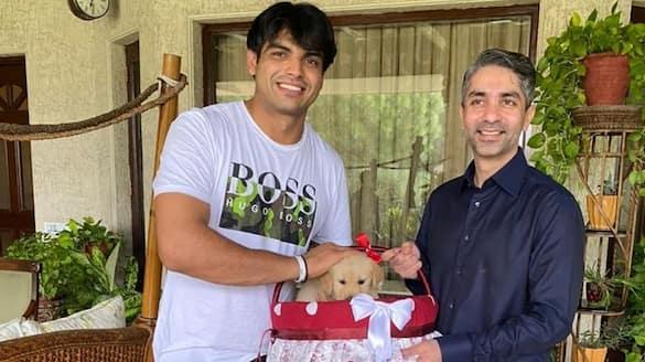 Abhinav Bindra gave a special gift to Tokyo Olympics Javelin Gold Medalist Neeraj Chopra