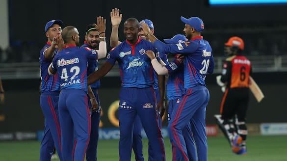 ipl 2021 Sunrisers Hyderabad to set 135 run target to Delhi Capitals rbj
