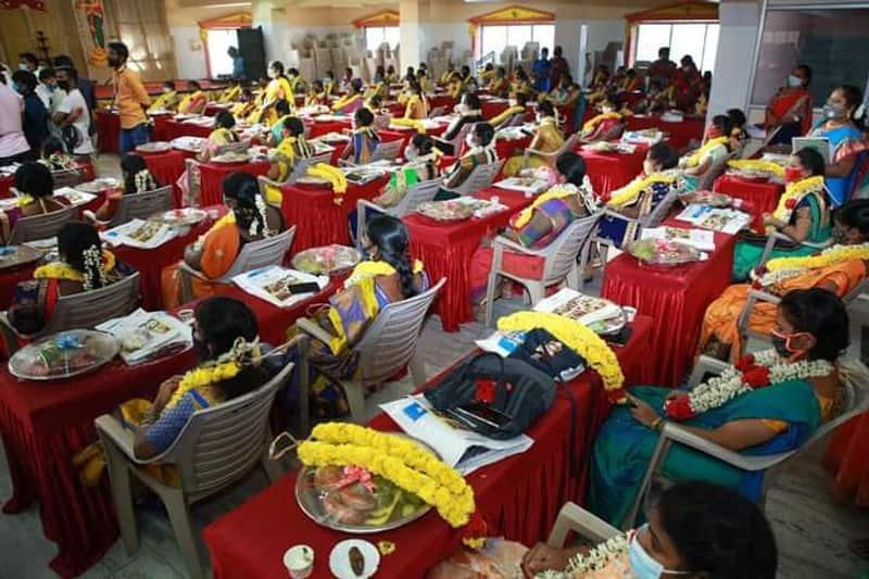 Valaikappu for 100 pregnancy womens... minister ma.su demand like brothewood.. sentiment speech