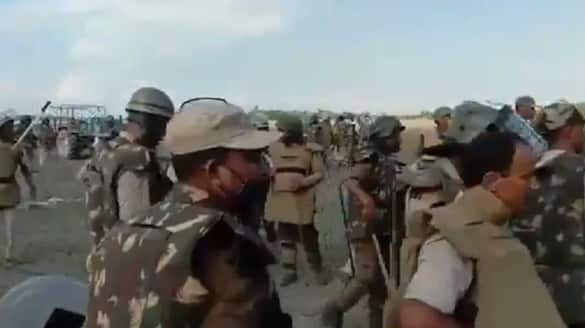 Horrific video from Assam cops thrash protesters open fire during eviction drive bsm