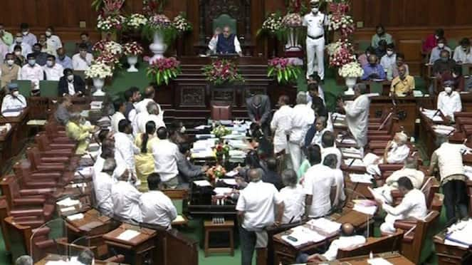 Ruckus Over NEP in Assembly, Siddaramaiah Hits Out BJP Govt rbj