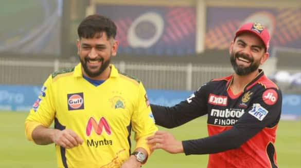 Chennai super kings won the toss elected to field against rcb