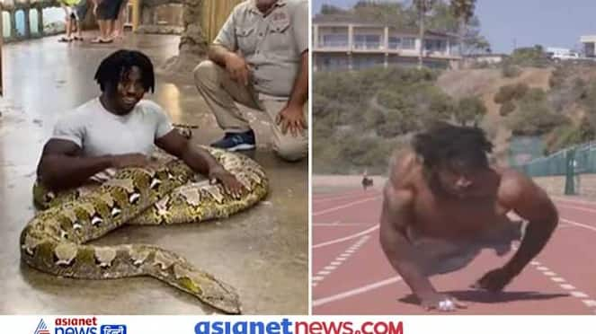 Divyang athlete Jeon Clarke sets new Guinness World Record, see this shocking video