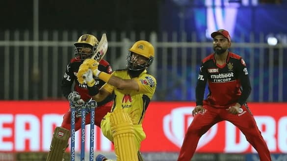 IPL 2021 CSK  beat Royal Challengers Bengaluru by 6 wickets in Sharjah ckm