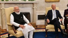 joe biden says apparently he has a connection with india in a joke with pm modi